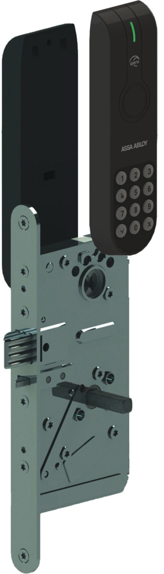Electronic Lock With Standard Rfid Reader Finnisches