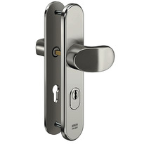 Security fittings with cylinder cover