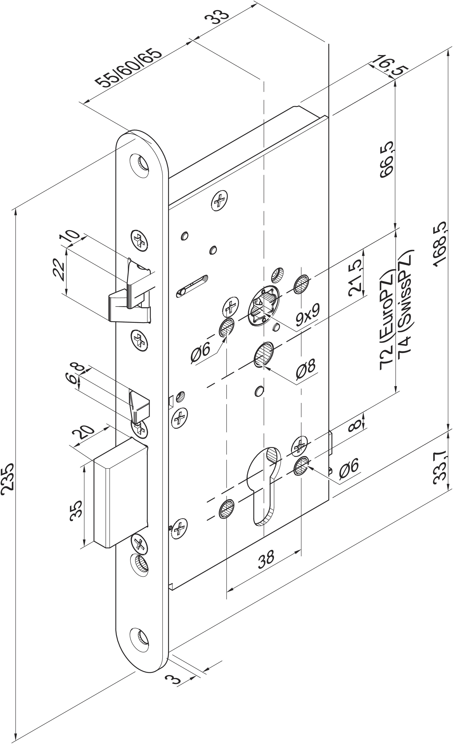 High Security Lock Microswitch Micro Switch Diagram 409x501pz